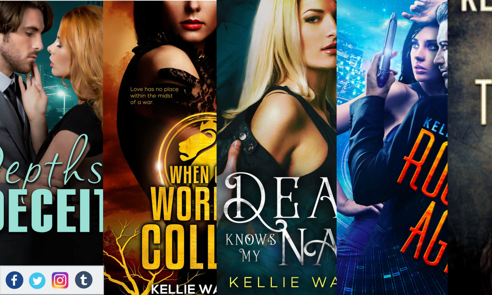 Kellie Wallace Books
